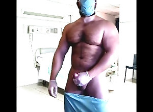 doctor;cumshot;hot-guy;gay;bear;jerk-off;jack-off;huge-load;giant-load;big-muscle-man;masturbate;big-cock;public;outside,Big Dick;Masturbation;Public;Solo Male;Exclusive;Verified Amateurs;Cosplay;Muscular Men Male Doctor Cums...