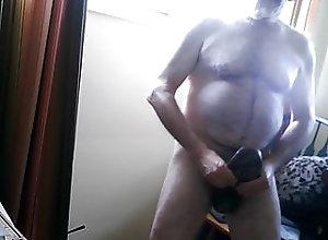 Amateur (Gay);Bear (Gay);Masturbation (Gay);Small Cock (Gay);Striptease (Gay);HD Videos Masturbating in...