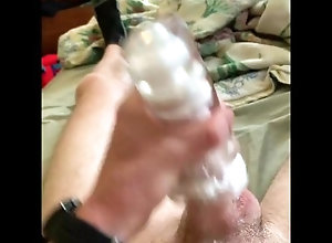 twink;pocket;pussy;solo;male;masturbation;cum;creampie;fleshlight;post;orgasm;torture;moaning;creamy,Solo Male;Gay Using pocket...
