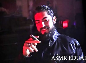 cigar;fetish;cigar;smoking;leather;fetish;leather;jacket;hot;guy;sexy;man;smoking;hot;guy;smoking;dominant;man;masculine;man;bearded;man;papi;chulo;daddy;asmr;man;asmr;male;asmr;guy;asmr;smoking,Daddy;Muscle;Fetish;Solo Male;Gay;Hunks;Straight Guys;A ASMR - Smoking...
