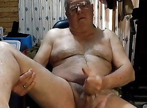 Cum Tribute (Gay);Daddy (Gay);Handjob (Gay);Masturbation (Gay);Gay Grandpa (Gay);Gay Cum (Gay);Gay Webcam (Gay);Gay Cam (Gay) grandpa cum on...