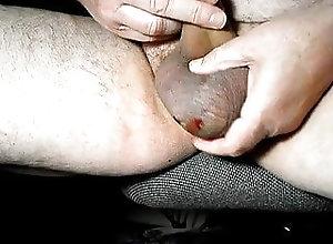 Amateur (Gay);BDSM (Gay);Masturbation (Gay) A lot of nut...