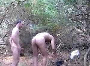 Men (Gay);Gay Porn (Gay);Amateur (Gay);Bareback (Gay);Outdoor (Gay);Smokes He fucks in the...