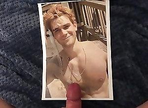 Cum Tribute (Gay);Masturbation (Gay);Gay Cum (Gay);HD Videos KJ Apa Cum Tribute 3