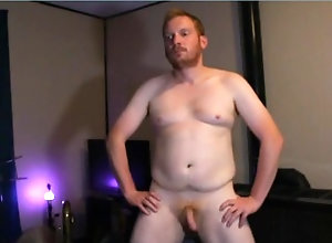 ginger;naked;boxer-briefs;canadian,Solo Male;Gay;Amateur;POV Naked Dance Party!