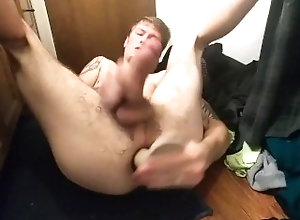 anal-gaping;rough-anal-pounding;hardcore-anal;anal-pounding;anal-cumshot;huge-dildo,Solo Male;Gay Gaping my pussy...