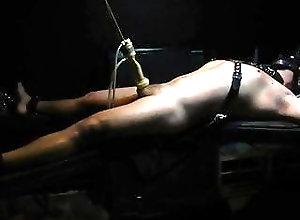 BDSM (Gay);Gay Bondage (Gay);Gay Milking (Gay);Gay CBT (Gay) Tied, milked,...