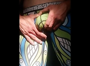 massage;leggings,Fetish;Masturbation;Gay;Bisexual Male;Solo Male;Vertical Video Masaż fiuta w...