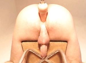 hands-free;prostate-orgasm;cumshot;kink;twink;sissy;cock-ring;bondage;bdsm;adult-toys;fucking-machine;prostate;sybian;masturbate;femdom;big-cock,Big Ass;Big Dick;Bondage;Cumshot;Toys;Anal;Solo Male;Verified Amateurs;Muscular Men Restrained...