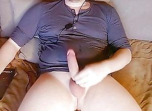 Amateur (Gay);Masturbation (Gay);Webcam (Gay);HD Videos jerking a bit