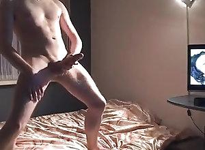 Men (Gay) Watching porn