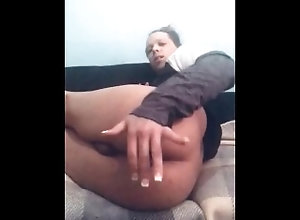 remote;shoved-in-ass;assplay;pushing-out;lightskin;transgender;trans,Fetish;Gay;Interracial;Amateur;Verified Amateurs A remote though...