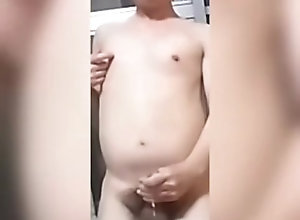 masturbation;nude;okama,Japanese;Solo Male;Gay;Handjob;Cumshot 公開オナニ�...