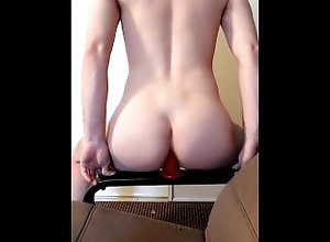 twink;femboy-fucked;femboy;dildo-ride;deeper;solofemale;femdom-pegging,Bareback;Twink;Solo Male;Big Dick;Gay;Amateur Femboy takes new...