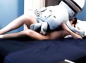 Blowjob (Gay);Masturbation (Gay);Sex Toy (Gay);60 FPS (Gay) Play with Crazy Frog