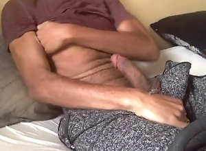 masturbate;big-cock;black;celeb;rock-mercury;porn-star;sexy;youtuber;famous;hairy;arms;pubes;snap-chat;best;top;hot,Solo Male;Gay Cum all over ROCK...