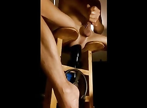 Amateur (Gay);Masturbation (Gay);Sex Toys (Gay) HUGE Butt-plug...